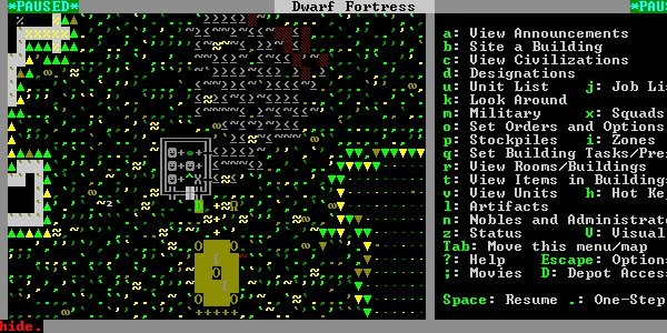 dwarf fortress how to put away things in hands
